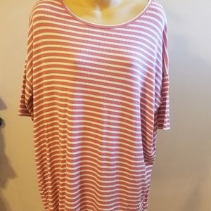 Nice Lularoe striped short sleeve small